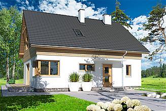 Projekt domu Jantar A
