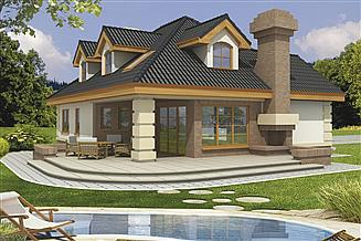 Projekt domu Lawenda 2B PE