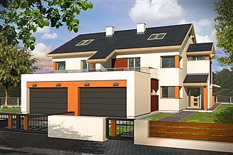 Projekt domu Willa Słoneczna segment