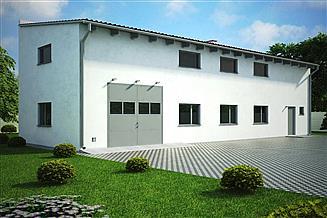 Projekt budynku gospodarczego G151 - Budynek gospodarczy