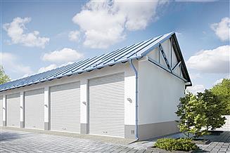 Projekt garażu G210 - Budynek garazowy
