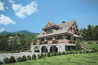 Projekt domu Watra II