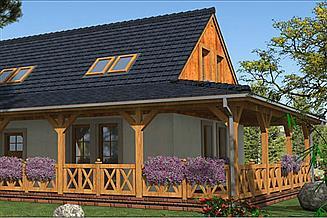 Projekt domu L-57 Dom tradycyjny