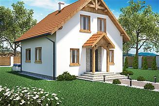 Projekt domu Domek Klonowy (030 ES)