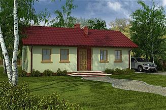 Projekt domu Domek Miodowy (003ES)