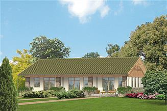 Projekt agroturystyczny Murator U06 Budynek agroturystyczny (letniskowy)
