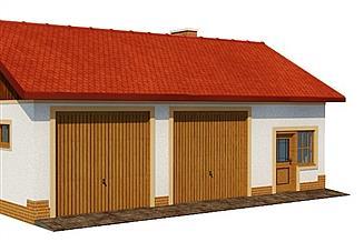 Projekt garażu BG 33