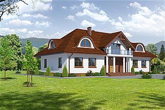 Projekt domu Gdów 1m