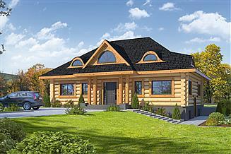 Projekt domu Chmielniki Dw29x