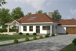 Projekt domu DJ 018a