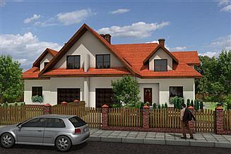 Projekt domu Bliźniak 2