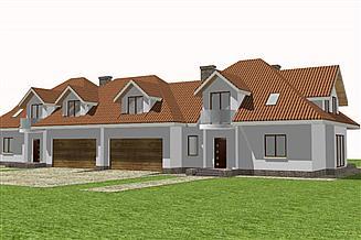 Projekt domu Bliźniak 5