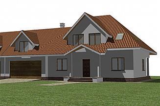 Projekt domu Bliźniak 4