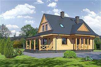 Projekt domu Zawoja dw3