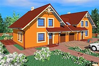 Projekt domu Les