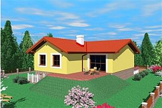 Projekt domu Ink