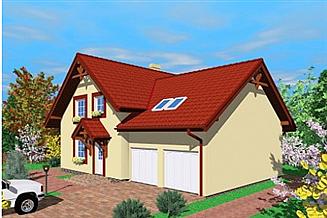 Projekt domu Luk