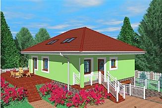Projekt domu Cim