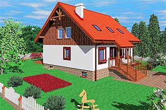 Projekt domu Tel