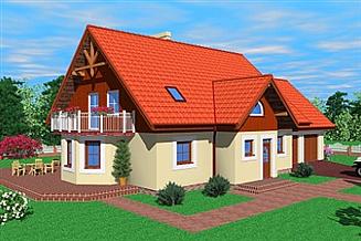 Projekt domu Gus