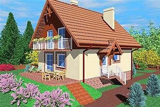 Projekt domu Zik