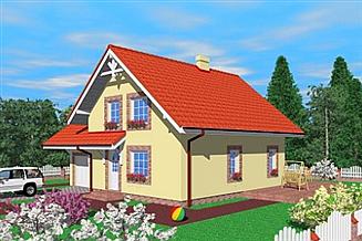 Projekt domu Daf