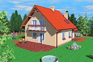Projekt domu Tml
