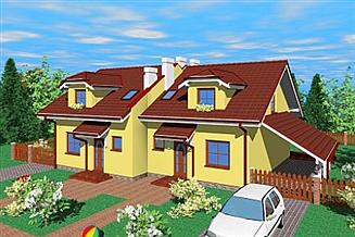 Projekt domu Kbm