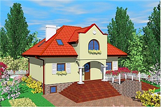Projekt domu Zap