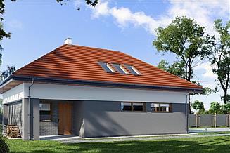 Projekt garażu E-G1
