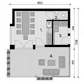Projekt Kuchni Letniej Kl5 Kuchnia Letnia Bud Gospodarczy 20 85