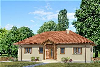 Projekt domu Domek Piastowski (002 ES)