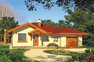 Projekt domu Dobrawa I