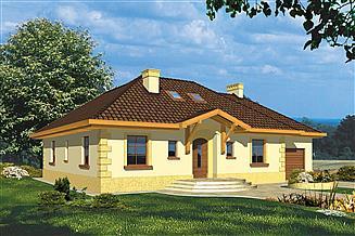 Projekt domu Pegaz I