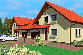 Projekt domu Cba