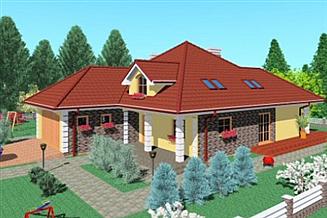 Projekt domu Lpa