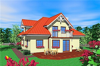 Projekt domu Dwp