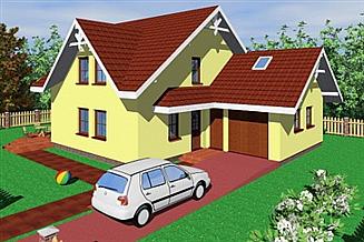 Projekt domu Hor