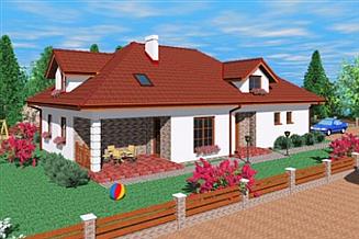 Projekt domu Gbr