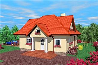 Projekt domu Kas