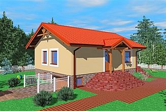 Projekt domu Lic