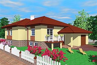 Projekt domu Nak
