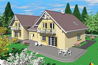 Projekt domu Dro