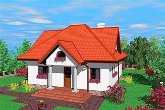 Projekt domu Kan
