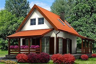 Projekt domu letniskowego DLM-3