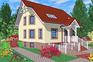Projekt domu Kap