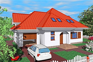 Projekt domu Sol