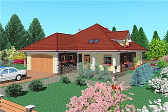 Projekt domu Lap