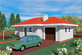 Projekt domu Man
