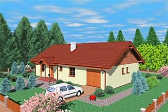 Projekt domu Zgz